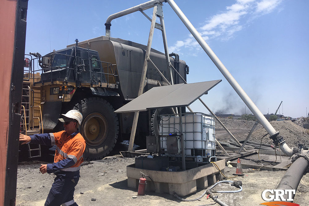 GRT Dust Suppression Solution
